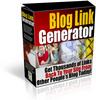 Blog Link Generator/mrr