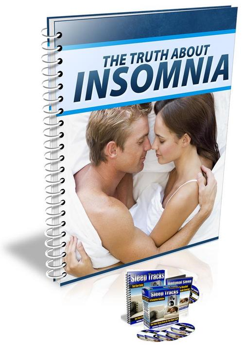 Product picture The Truth About Insomnia With/MRR