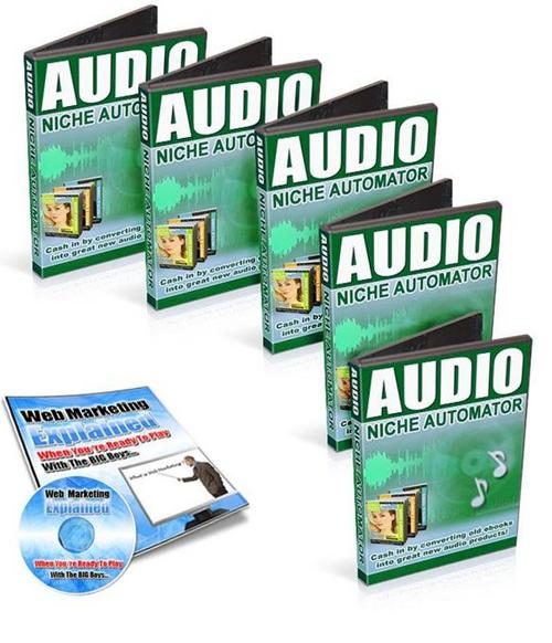 Product picture NewAudio Niche Automator +BONUS audios  (99MB)/MRR