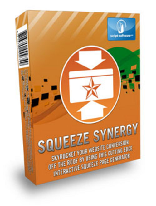 Product picture squeeze Synergy Software-unlimited Squeeze Page Creator Mmr