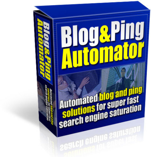 Product picture Blog And Ping Automator Mrr