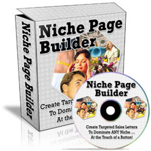 Product picture Niche Page Builder**Software with Master Resell Rights