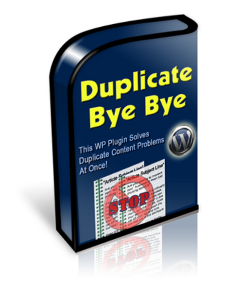 Product picture Duplicate Bye-Bye-New Wordpress plugin
