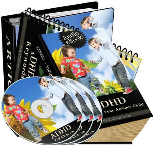 Product picture ADHD Helping Your Child audios and articles/PLR