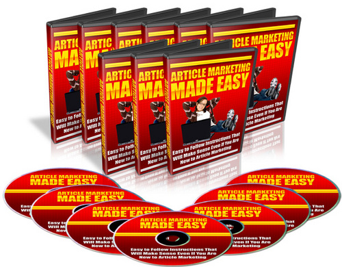 Product picture Article Marketing Made Easy MRR