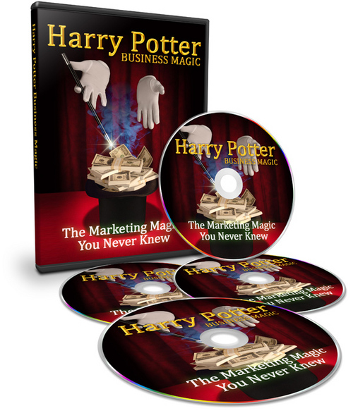 Product picture Harry pottter marketing